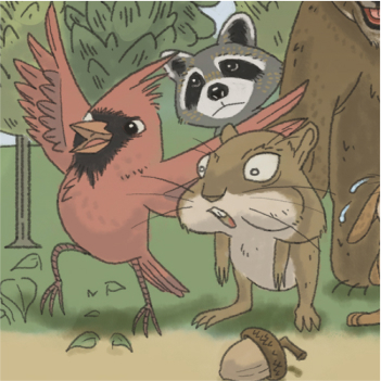 Children's illustrations thumbnail: Forest Animals